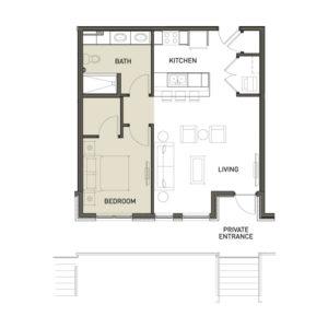 1A-1-Bedroom