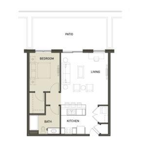 1Ba-1-Bedroom