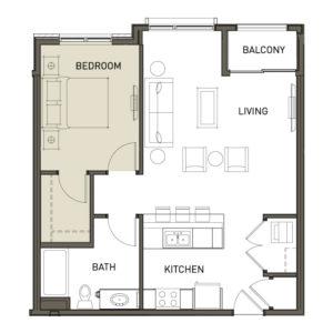 1D-1-Bedroom