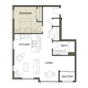 1F-1-Bedroom