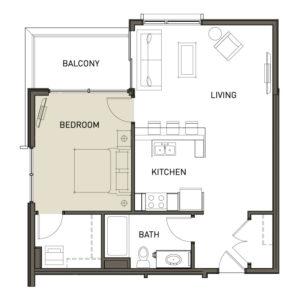 1H-1-Bedroom