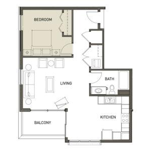 1J-1-Bedroom