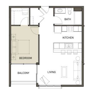 1L-1-Bedroom