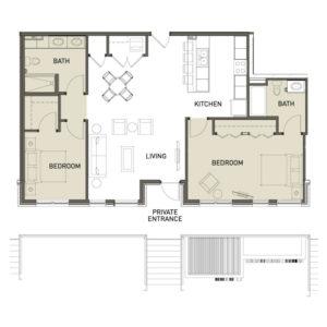2A-2-Bedroom