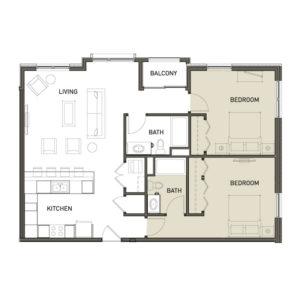 2B-2-Bedroom