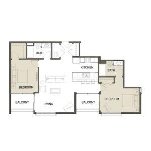 2C-2-Bedroom